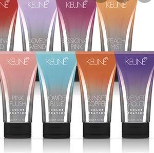 bundle: 2 Keune color and 1 watercolor shampoo